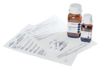 Certyfikowane wzorce wody [mg/l (ppm), % H2O]